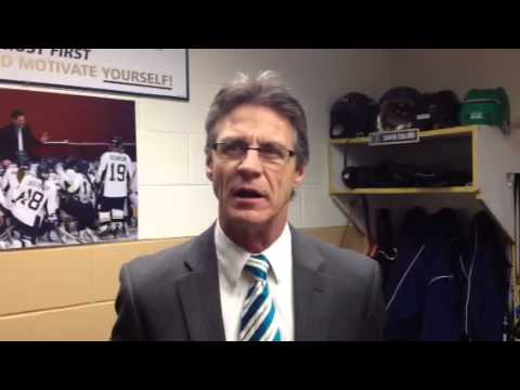 Women's Hockey:  Coach Collins Recaps 3-1 Victory Against St. Olaf