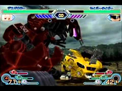 Zoids FMC - Bloody Demon Vs. Saber Tiger