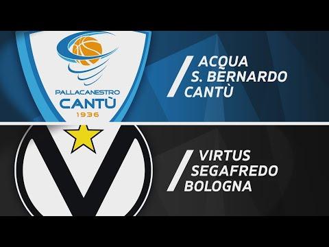 Serie A 2020-21: Pallacanestro Cantù-Virtus Bologna, gli highlights