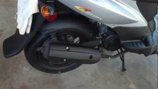 3. 2012 Kymco Agility 50 Review