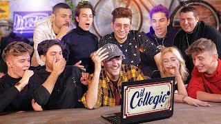 TUTTO IL COLLEGIO 4 IN UN SOLO VIDEO! - MEGA REACTION MATES CON TONY, JODY E REDNOSE e I COLLEGIALI