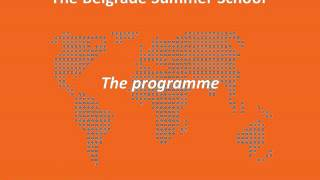 Belgrade Summer School