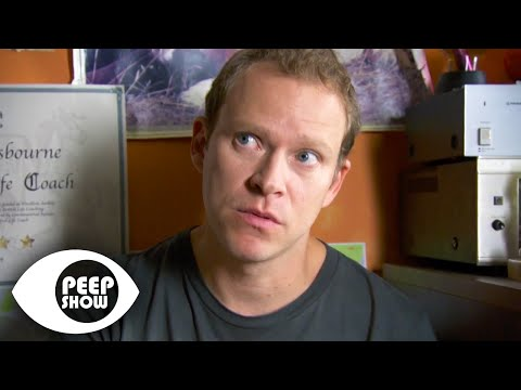 Jez Being A Life Coach – Peep Show