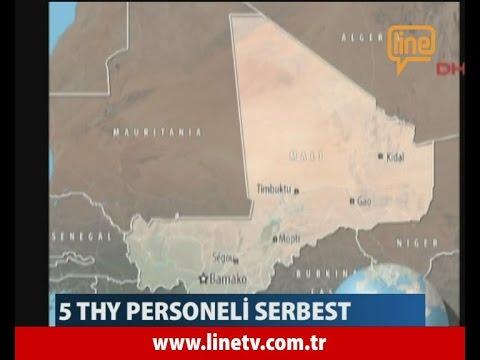 Mali'de Rehine Krizi. 5 THY Personeli Serbest -20 Kasım 2015-