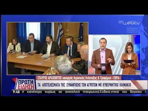Τι είπε ο υπουργός Αγροτικής Ανάπτυξης σην ΕΡΤ | 15/02/19 | ΕΡΤ