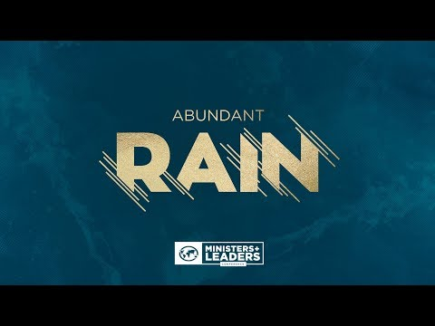 Abundant Rain EXTENDED Meetings // Friday PM // 10.27.2017