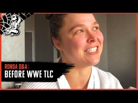 Ronda Rousey's Pre-WWE TLC Q&A