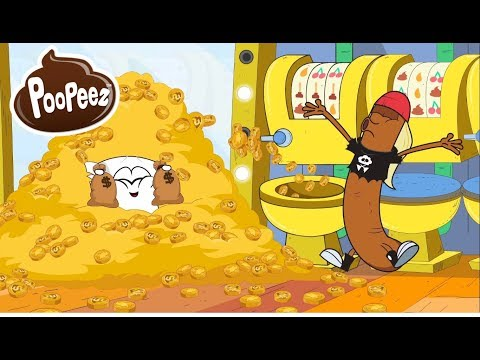 Poopeez 💩 Cartoon -- TP's Lucky Day!