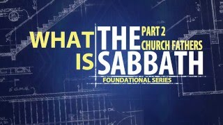 What is the Sabbath part 2
