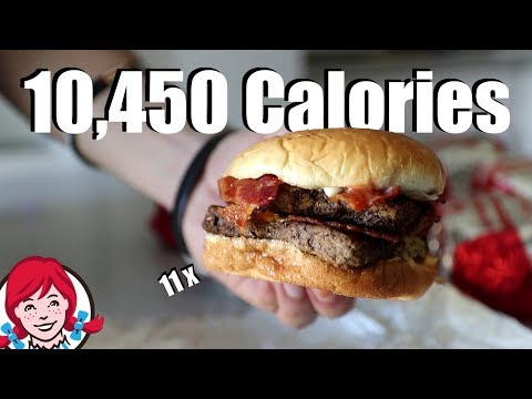 10,000 Calorie Baconator Challenge!! (11 Burgers) - Thời lượng: 6 phút, 18 giây.
