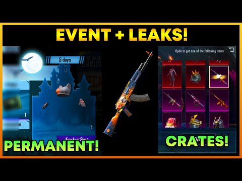 Get Free Permanent Outfit In Pubg Mobile || Upcoming Custom Crate Leaks || HellFire Akm (Hindi)