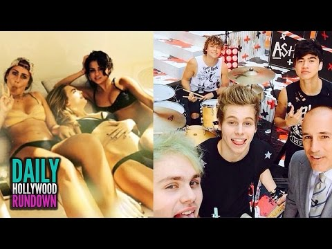 Selena Gomez Celebrates 22nd Birthday In Sexy Bikini! – 5 Seconds of Summer Perform For Crying Fans