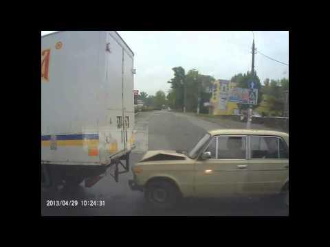 Авария на Украине