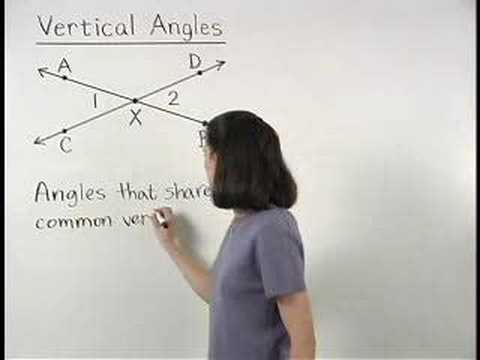 Vertical Angles Video