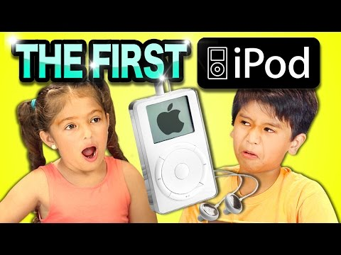 Kids react to the first iPod