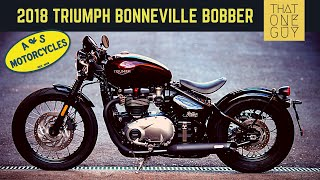 4. 2018 Triumph Bonneville Bobber test ride and review | Solid performance - built for speed