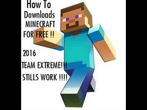 How  To Download MINECRAFT Team EXTREME 2016 WORK !!