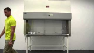6.5′ Nuaire Biological Fume Hood with Base Stand