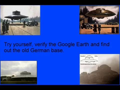 ANTARCTICA UFO NAZI BASE - Masked in Google Earth - Captain Bill