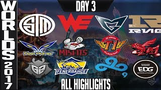 Video World Championship 2017 Highlights ALL GAMES Day 3 Groups - ALL Kills & Objectives Day 3 Worlds 2017 MP3, 3GP, MP4, WEBM, AVI, FLV Agustus 2018