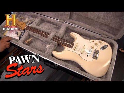 Pawn Stars: RARE EXPENSIVE GUITAR MADE MUSIC HISTORY (Season 8) | History