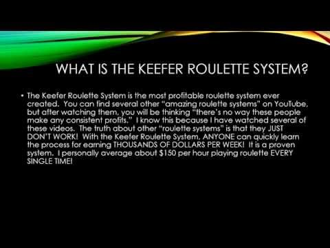 BEST ROULETTE SYSTEM EVER!  99.7% WIN RATE/$150 PER HOUR
