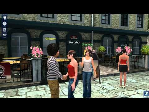 3dchat.com Online Virtual MMO Game - Video Tour