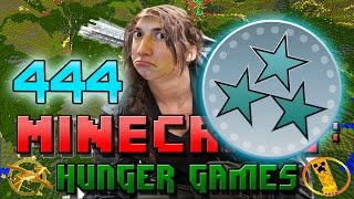 Minecraft: Hunger Games w/Mitch! Game 444 - OH BABY A TRIPLE!