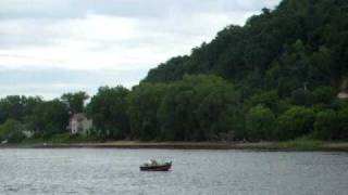 La Crosse (WI) United States  city images : Mississippi river cruising tour in La Crosse WI USA part 6