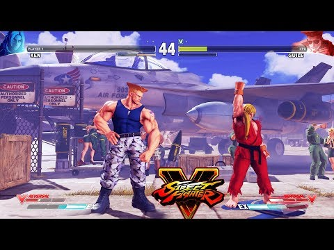 Street Fighter V Ken Vs Guile