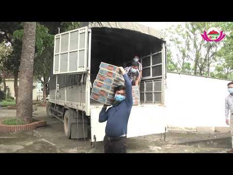 Công ty TNHH MNS FARM Nghệ An trao 100 triệu đồng bằng hiện vật phòng chống Covid19