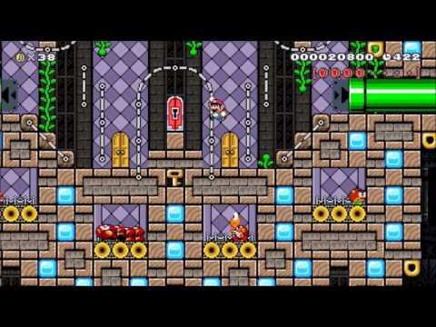 Kewl Kaizo Klubhouse!: Beating Super Mario Maker's Requested Levels! (видео)