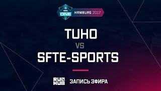 TuHo vs SFTe-sports, ESL One Hamburg 2017, game 1 [Maelstorm, Inmate]