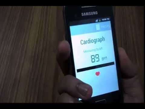 Video of Cardiograph Heart Rate Monitor