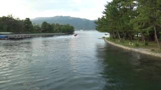 Miyazu Japan  City pictures : Boat at Amanohashidate, Miyazu Bay, Kyoto Prefecture, Japan 日本天橋立