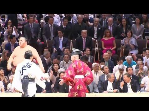 Στην Ιαπωνία ο Ντόναλντ Τραμπ