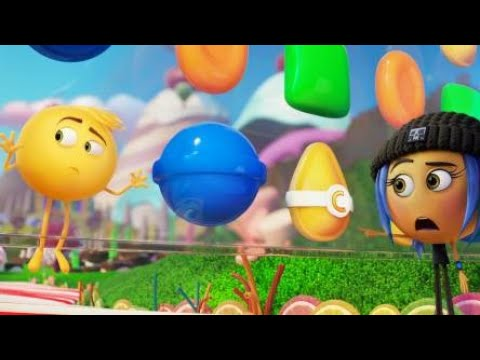 The Emoji Movie-Candy Crush Scene in Hindi |Hindi Cartoon
