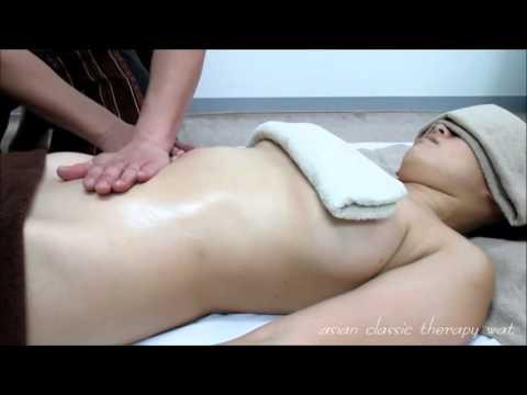 Видео секс с азиаткой на массаже практически