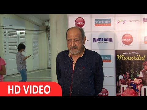Tinu Anand At Star Studded Premiere Of Mr & Mrs Murari Lal