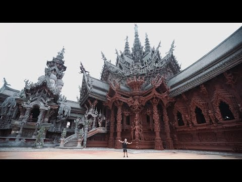 THAILAND'S MOST INCREDIBLE TEMPLE  - Sanctuary of Truth (видео)