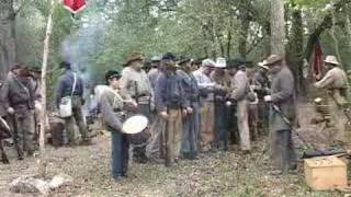 Hempstead (TX) United States  City pictures : Civil War Reenactment (Forming Ranks)
