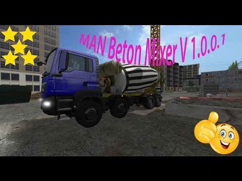 MAN Beton Mixer v1.0.0.1