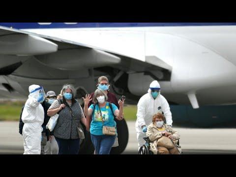 Coronavirus: Passagiere der »Grand Princess« werden a ...