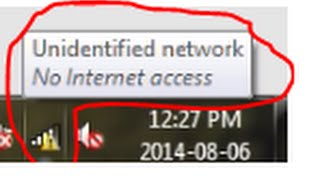 Fix Unidentified Network OR 'No Internet Access' (Limited Acces) In Wi-Fi Network in iball baton.