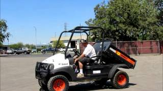 5. Sold! 2008 Bobcat 2200 4x4 Utility Vehicle UTV Cart ATV w/ bidadoo.com