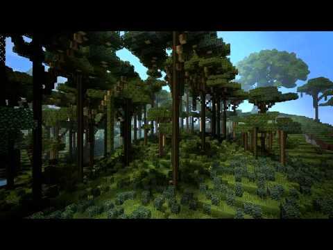 Minecraft: Custom Map Showcase - Rainforest Valley