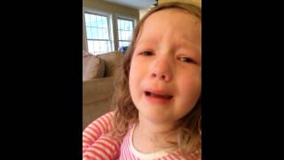 Little Girl Devastated That She Won't Meet George Washington
