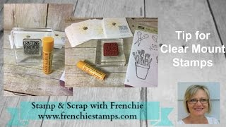 Video Tip for Clear Mount Stamp MP3, 3GP, MP4, WEBM, AVI, FLV Mei 2017