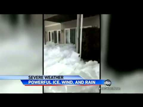 weather - SOURCE: http://www.abcnews.com News Articles: Creeping wall of ice destroys homes in Canada http://www.bbc.co.uk/news/world-us-canada-22505232 Wall of ice de...