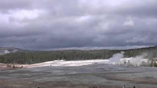 Oct 5, 2008 Upper Gesyer Basin Streaming Camera Captures